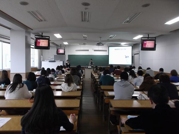 2013年11月19日北翔大学出張講座風景2