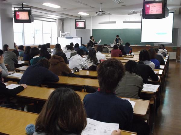 2013年11月19日北翔大学出張講座風景3